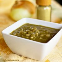 Green Chile Sauce from How to Make Green Chile Sauce from Powder