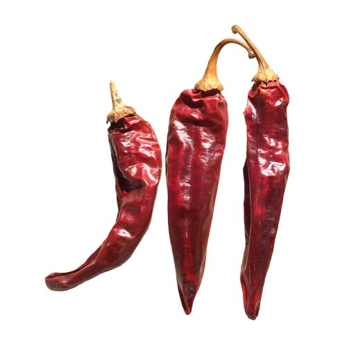 Dried New Mexico Red Chile Pods
